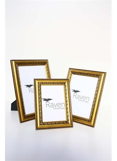 Raven Home Studio Rhs Dekoratif Resim Çerçevesi 3 Lü Çerçeve&Albüm Bakır One Sıze Renkli